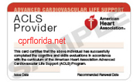 aha acls certification
