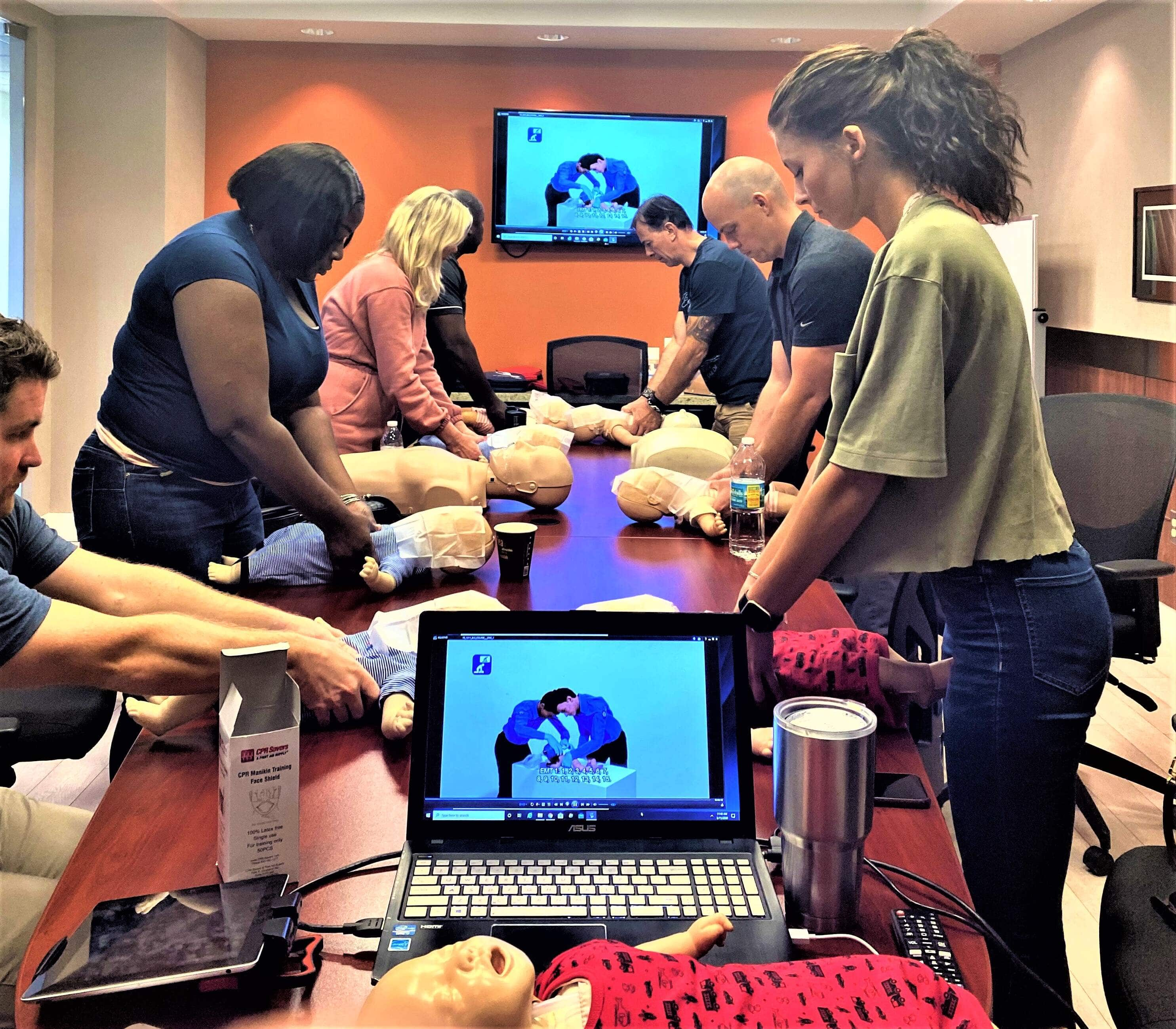 Pompano Beach cpr bls first aid certification classes