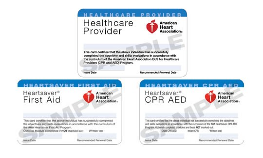 CPR Florida Replacement Cpr Aed Bls First Aid Pals Acls - Cpr card template
