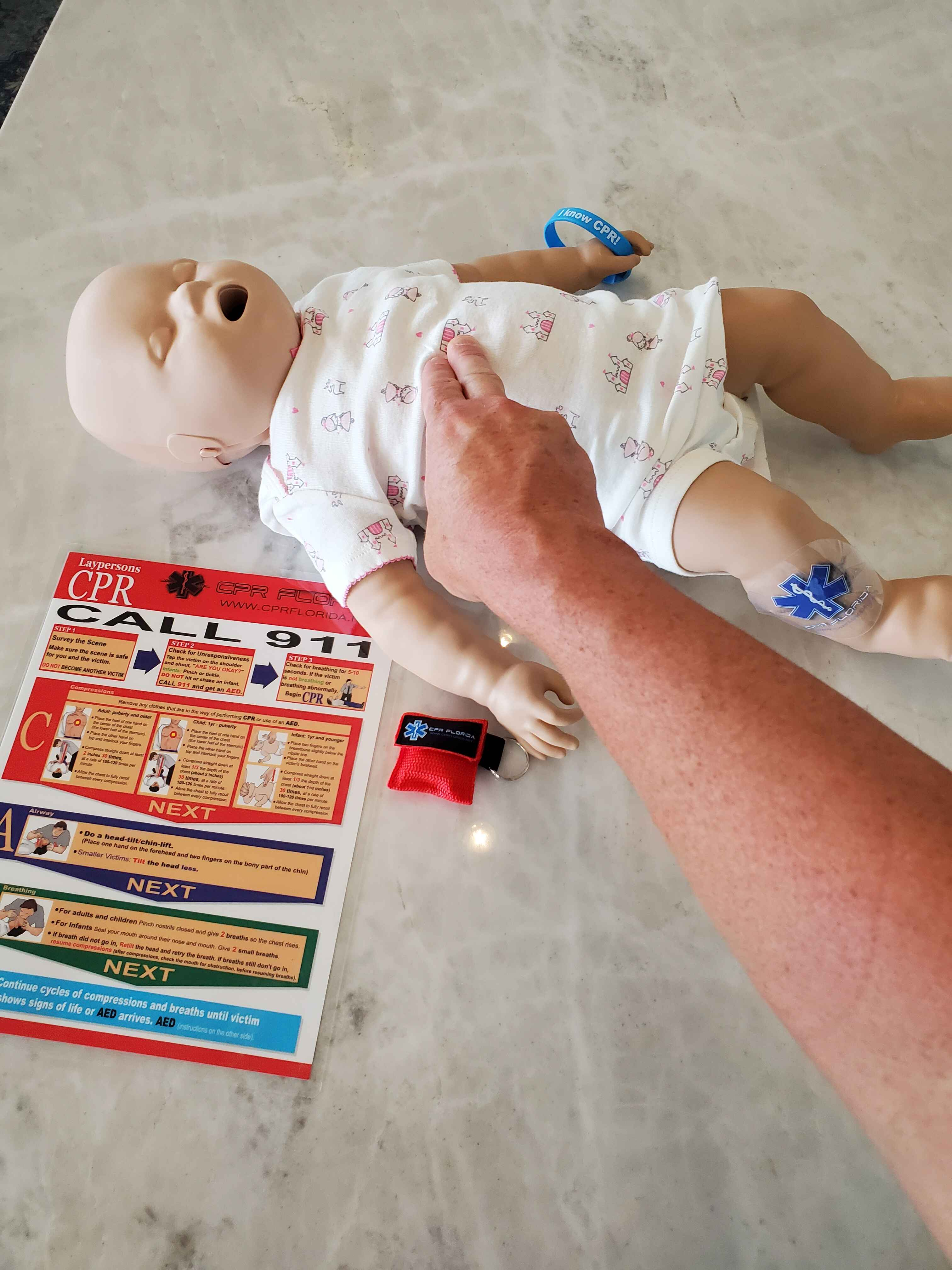 infant cpr certification classes